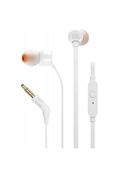 T110 Mikrofonlu Kulak içi Kulaklık Beyaz