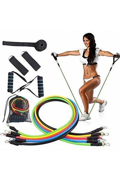 Latex Egzersiz Direnç Lastiği Seti