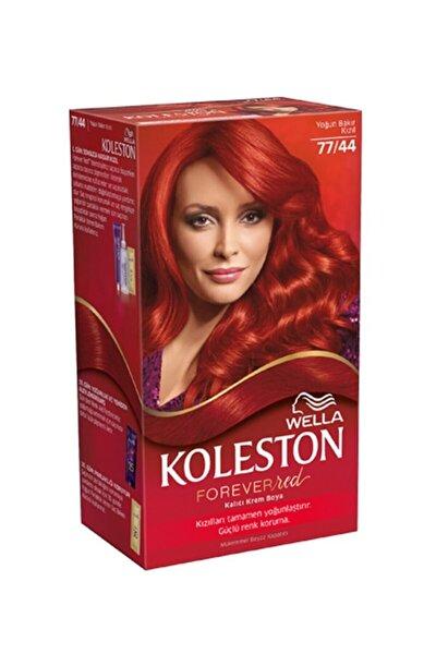 Özel Kızıllar Serisi Set Saç Boyası 77 44 Kor Ateşi Kızılı