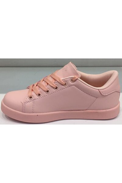 Kadın Pembe Günlük Spor Ayakkabı