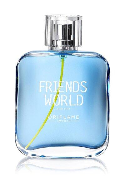 Friends World for Him Edt 75 ml Erkek Parfümü 5698541265154