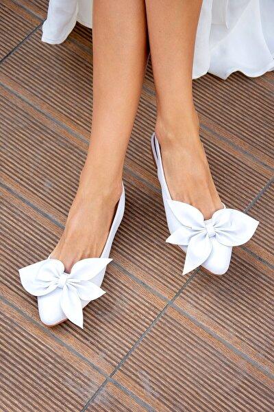 Beyaz Kadın Babet H726809009