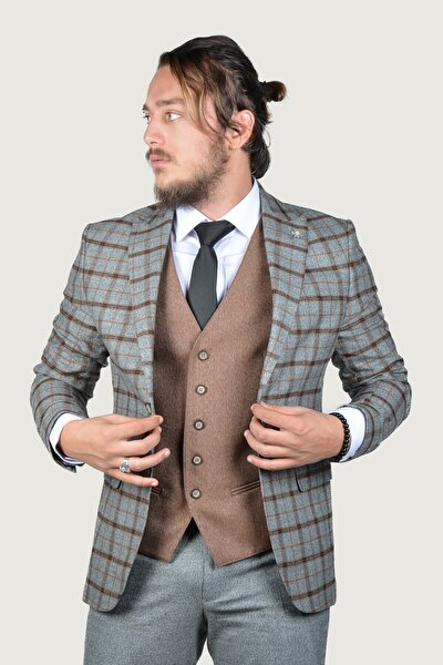 Erkek Takım Elbise 9Y-40635-042 Antrasit