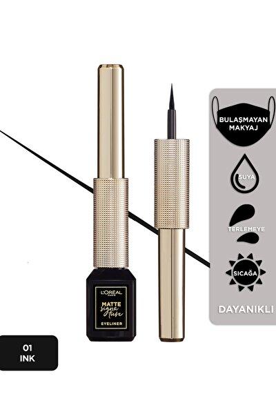 Mat Eyeliner - Matte Signature Eyeliner 01 Ink 30175228