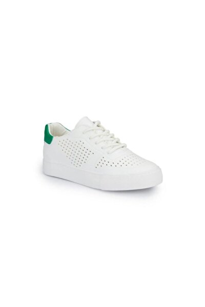 Kadın Günlük Spor Ayakkabı Vıctorıa Beyaz-Yeşil 20S04VICTORIA