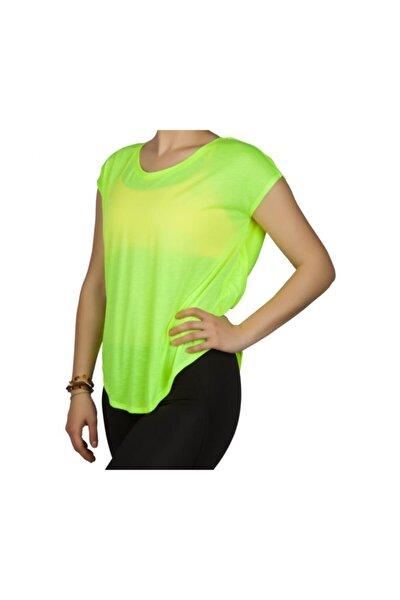 Kadın Yeşil Spor T-shirt 362203