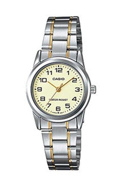 Kadın Kol Saati Ltp-v001sg-9budf Çelik Sarı