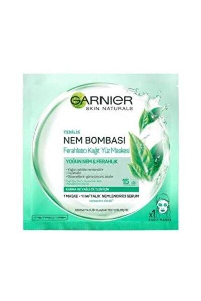 Karma & Yağlı Ciltler için Nem Bombası Ferahlatıcı Kağıt Yüz Maskesi 32 g 3600541945630