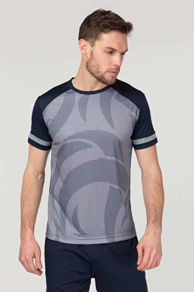 Lacivert Erkek Antrenman T-Shirt FS-9668