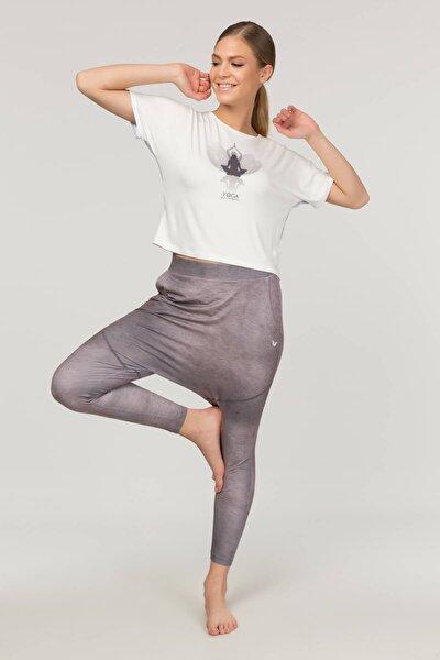 Pembe Yoga Kadın Şalvarı FS-4005