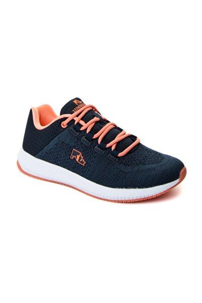 Lacivert Kadın Spor Ayakkabı Ale Wmn As00003444 Lacı/turuncu