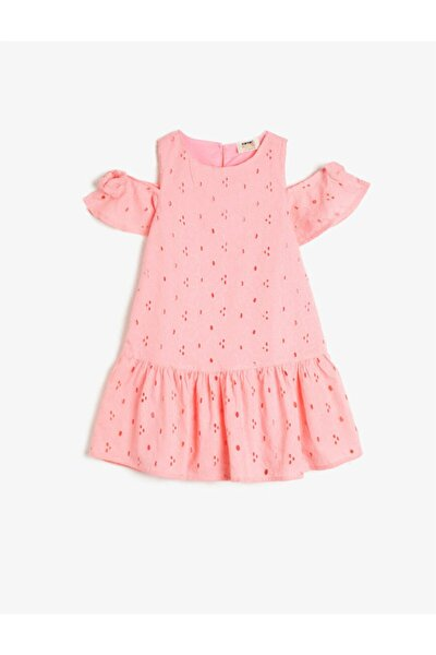 Kız Çocuk Pembe Elbise