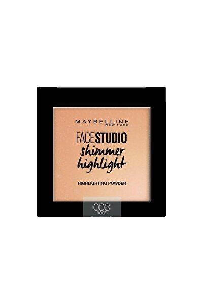 Aydınlatıcı - Face Studio Shimmer Highlight 003 Rose 3600531542894