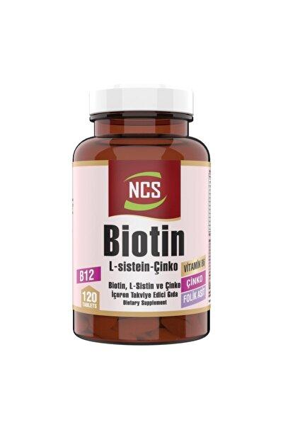 Biotin Folic Acid 120 Tablet L-sistein Metiyonin 2500 Mcg Çinko
