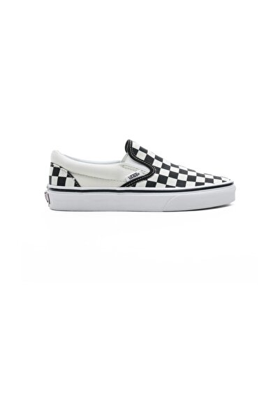 Classic Slip-On Checkerboard Siyah - Bej Unisex Sneaker