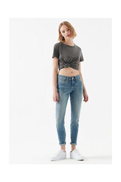 Kadın Mavi Ada Vintage Jean 1020519774