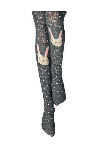 Kız Çocuk Cool Bunny Külotlu Çorap