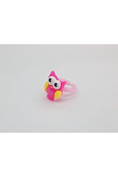 Trendyıldızı Baykuş Figürlü Kız Çocuk Yüzüğü