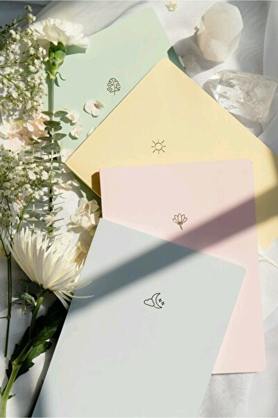 Notebook 4'lü Defter Set Soft
