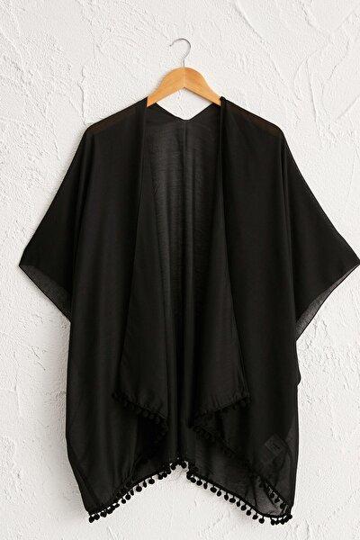 Kadın Yeni Siyah Elbise 0SE625Z8