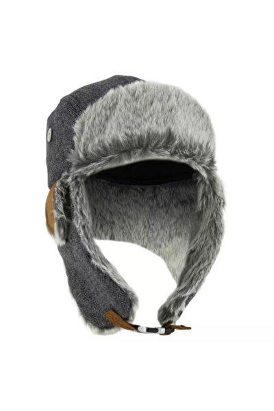 Dukkan Kürklü Şapka Kışlık Kürklü Bere Isı Yalıtımlı