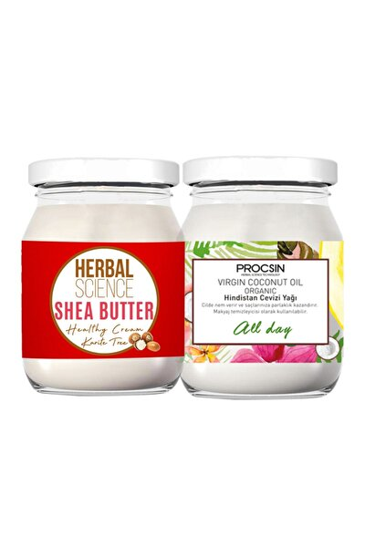 Hindistan Cevizi Yağı 190ml  Shea Butter 190ml
