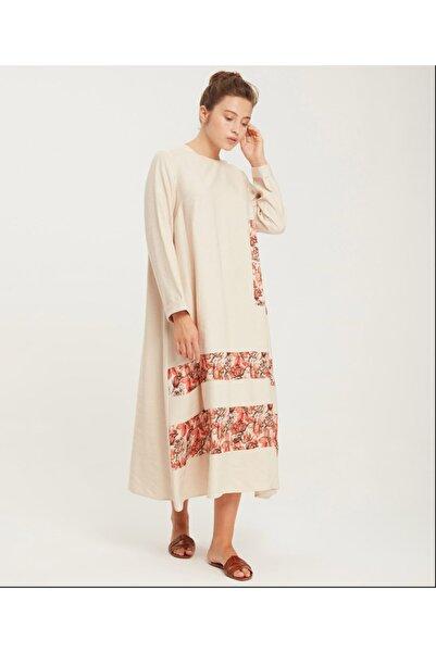 Kadın Taş  Renk Büyük Beden Elbise Y47090198