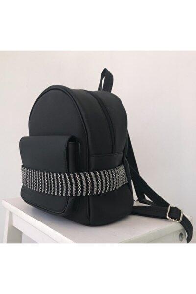 Unisex Siyah Luna Black Sırt Çantası