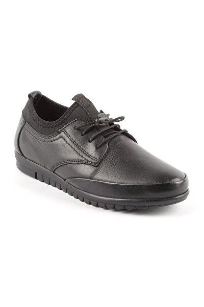 Kadın Siyah Bağıcıklı Spor Ayakkabı 5074
