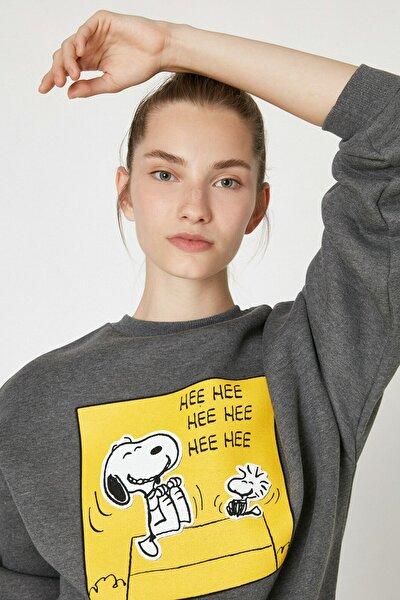 Kadın Antrasit Sweatshirt 1KAL68893IK
