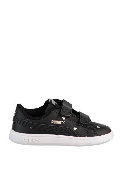 SMASH V2 L STUDS V I Siyah Kız Çocuk Koşu Ayakkabısı 100662833