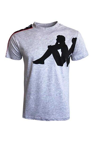 Erkek Gri Buys Baskılı Tişört