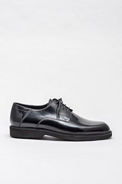 Erkek Alpha Sıyah Casual Ayakkabı 20KMTM-531