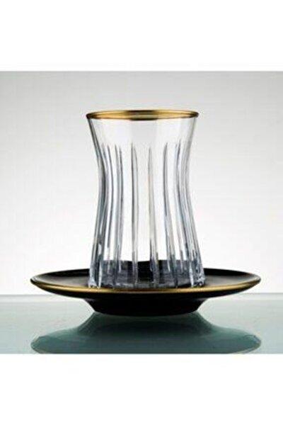 El Yapımı 12 Parça 6 Kişilik Çay Bardağı Seti