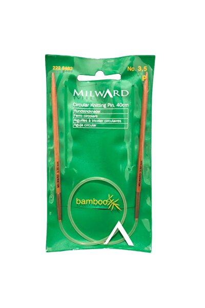 Mılward Bamboo Misinalı Şiş 40 Cm No: 3,5 Made In Germany