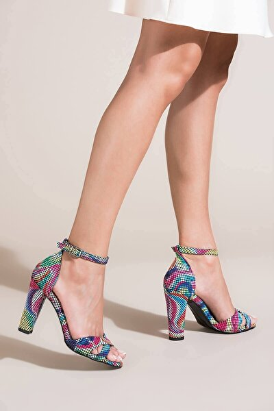 Multi Kadın Topuklu Ayakkabı B922213707