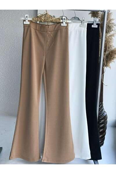 Kadın Camel İspanyol Mira Pantolon