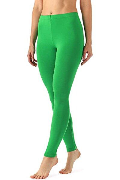 Kadın Çimen Yeşili Tayt
