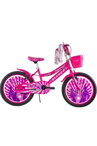 Bisiklet 20 Jant Beemer Kız Bisikleti 7-10 Yaş 2021 Model(pembe)