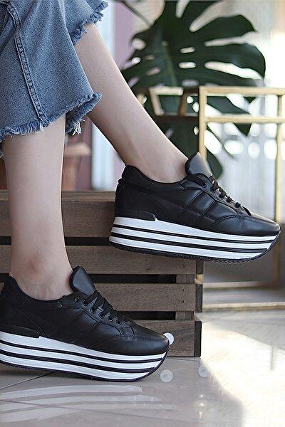 Siyah Kadın Sneaker SPOR1616