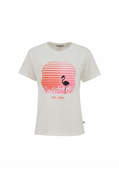 Kadın BEYAZ T-SHIRT  012218011360890000