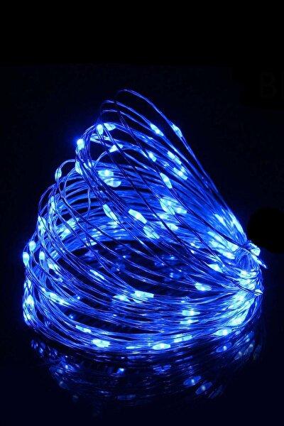 Peri Led 10 Metre Pilli Mavi Renk Dekoratif Aydınlatma