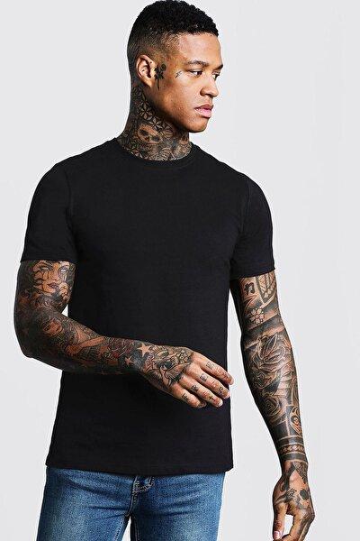 Siyah Bisiklet Yaka T-shirt 1kxe1-44750-02
