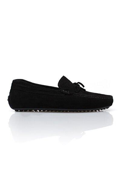 Driving Siyah Hakiki Deri Erkek Loafer