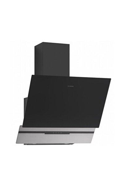 3450 Slim-line Basic 60 Cm Siyah Duvar Tipi Davlumbaz