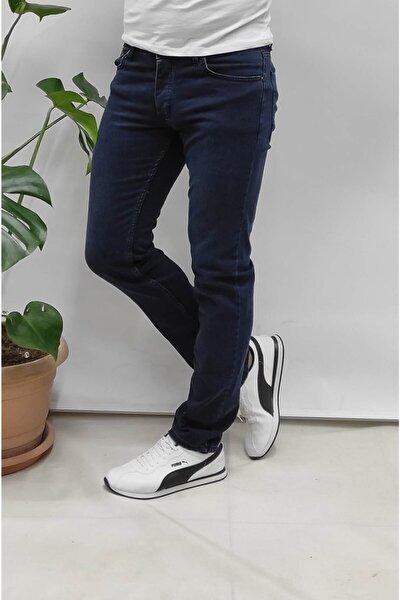 Likralı Büyük Beden Battal Jeans Kot