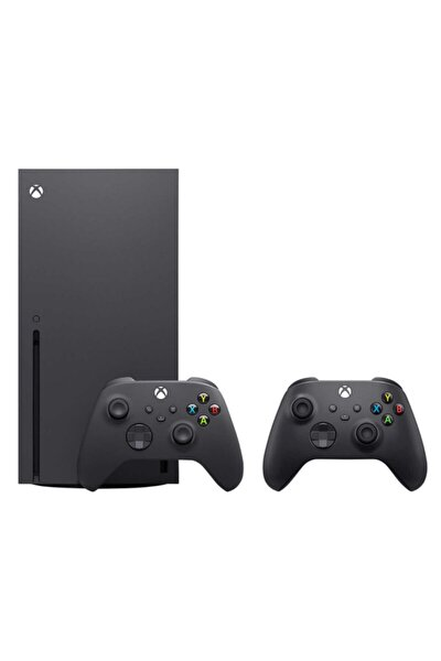 Xbox Series X Oyun Konsolu Siyah 1 Tb + 2. Kol