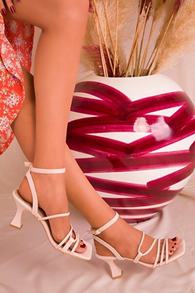Ten Kadın Klasik Topuklu Ayakkabı 16006