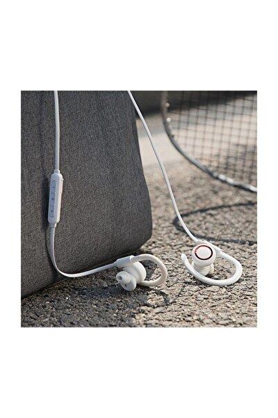 S17 Magnetic Sport Kablosuz Bluetooth 5.0 Kulaklık Beyaz