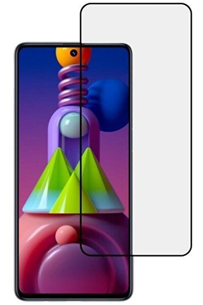 Galaxy M51 5d Ekran Koruyucu Cam Kaplayan Kavisli